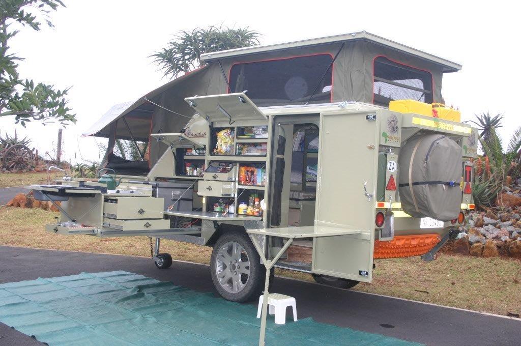 2 Sleeper Cheetah Caravan by Afrispoor