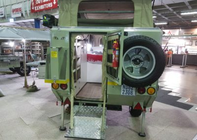Afrispoor Serval 2 Sleeper Rear Entry
