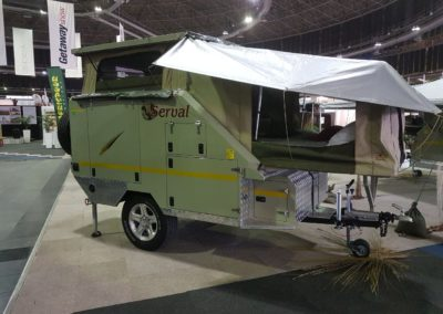 Afrispoor Serval 2 Sleeper Caravan
