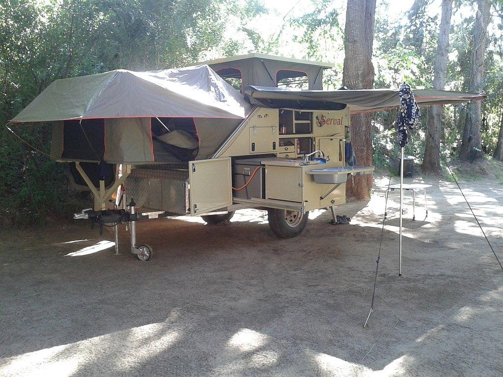 Serval Offroad Caravan - 2 Sleeper Afrispoor