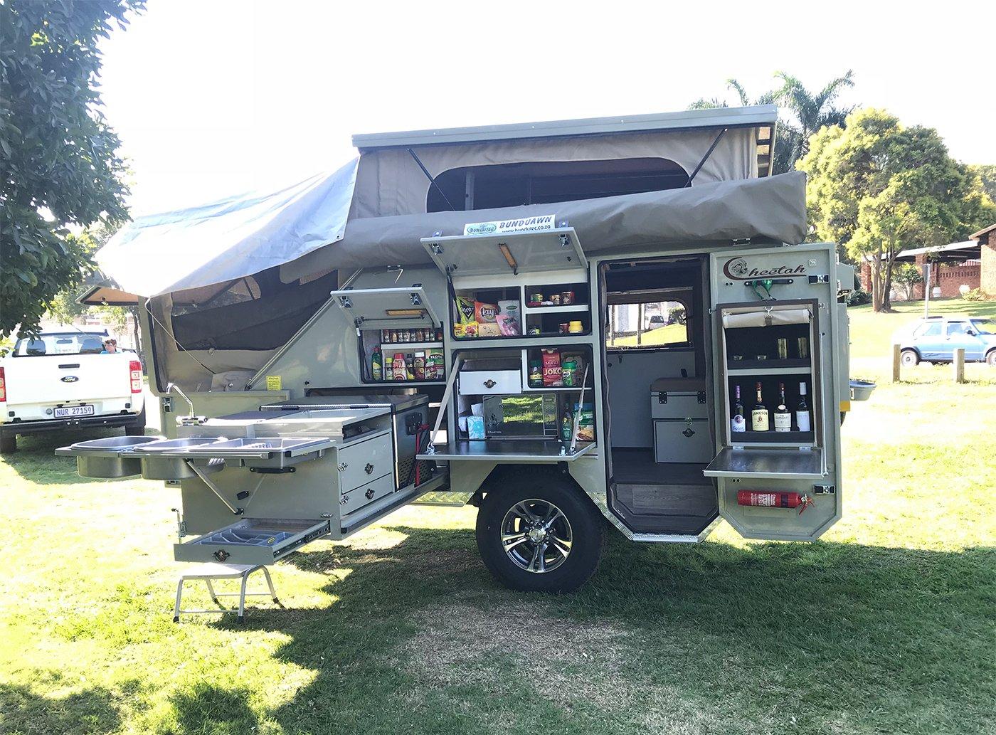 Afrispoor Cheetah Caravan 4S - Afrispoor Trailers