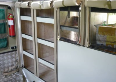 Afrispoor Offroad Trailer - Serval - interior storage