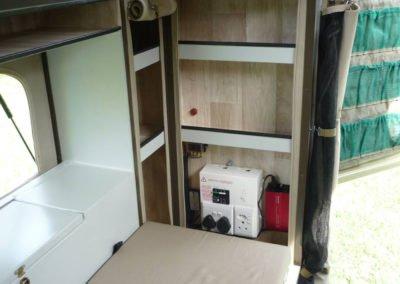 Afrispoor Offroad Trailer - Serval - interior storage2