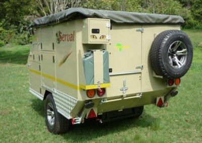 Afrispoor Trailer - Serval standard - exterior2
